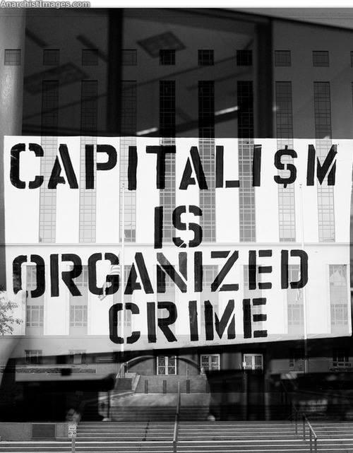 anti capitalism left wing print