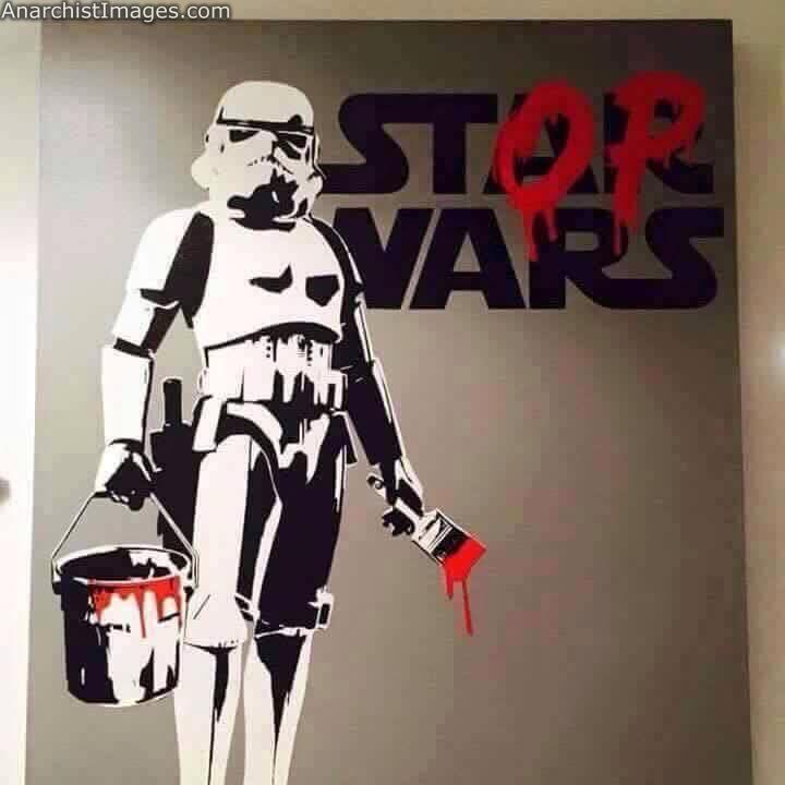 Stop Wars #StarWars