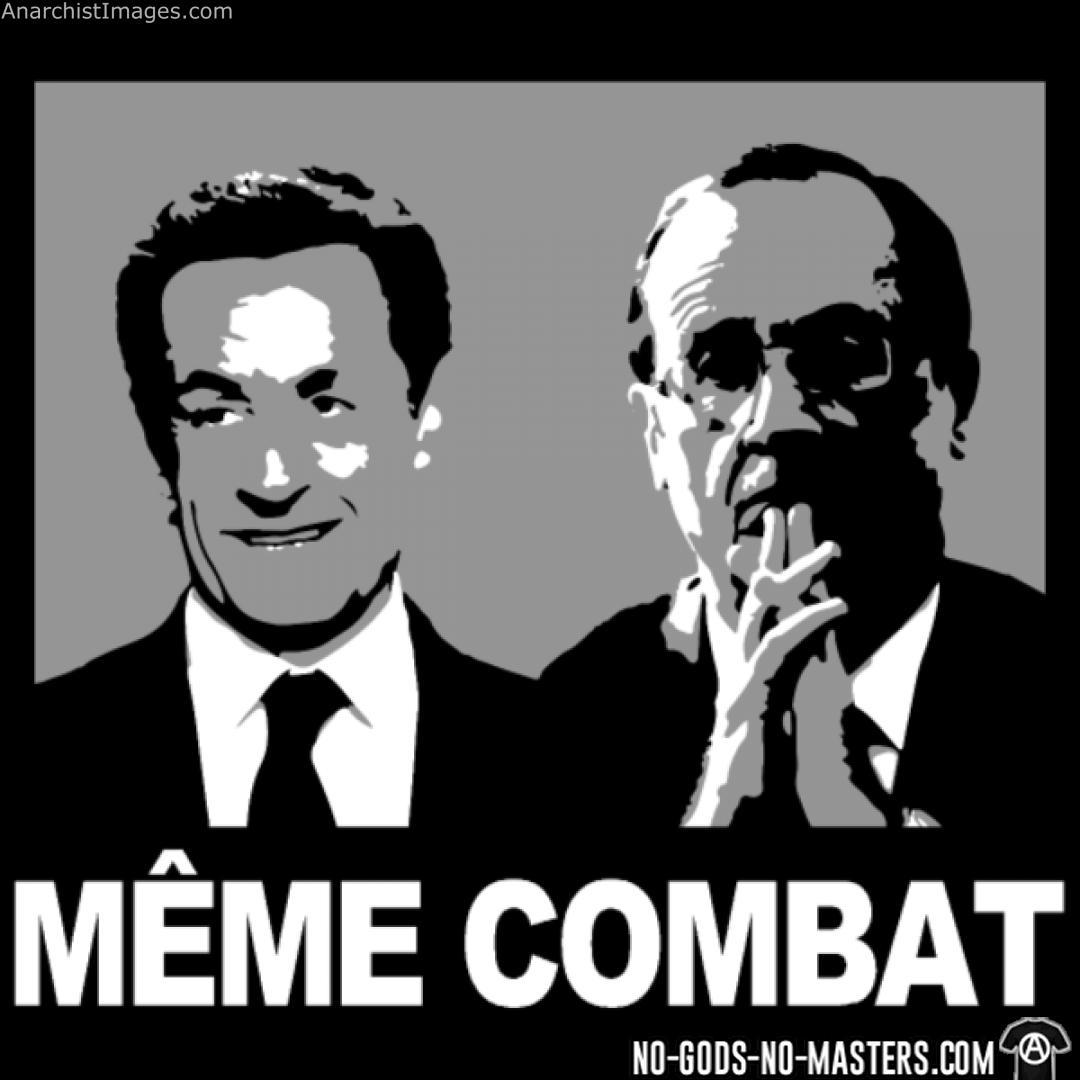 Sarkozy/Hollande - Même combat!