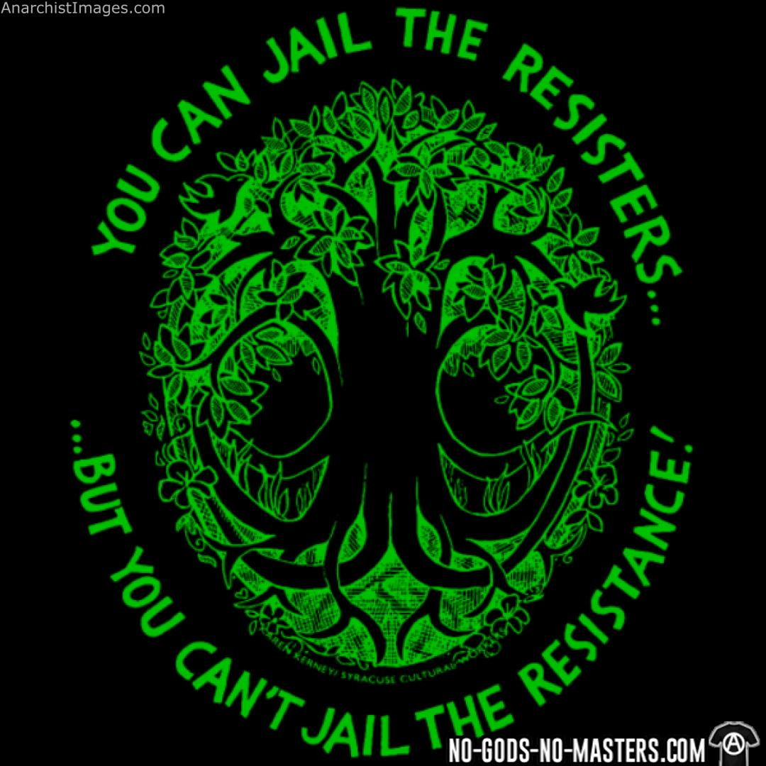 You can jail the but you can