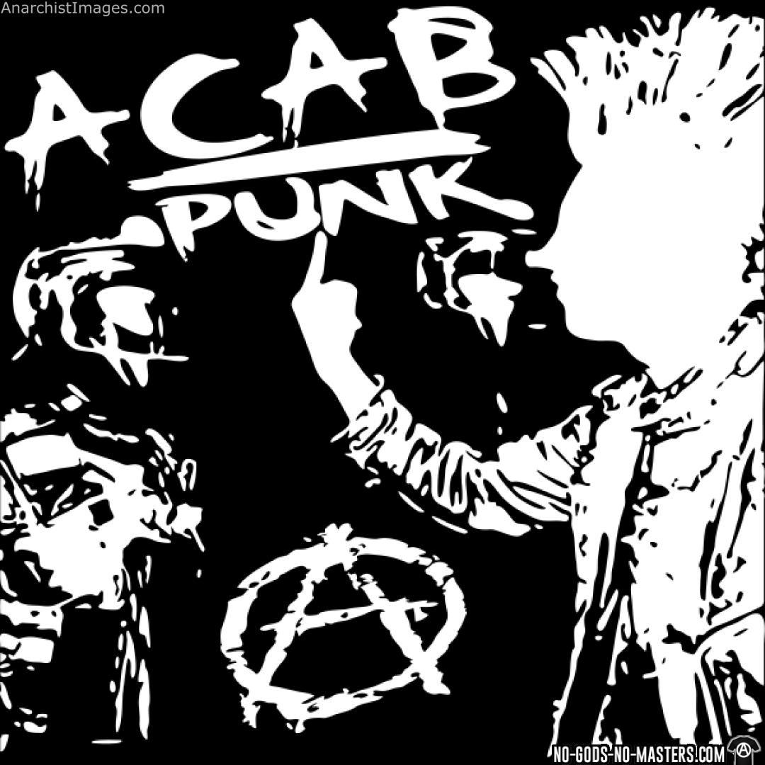 ACAB punk anarchy anti fascism pic