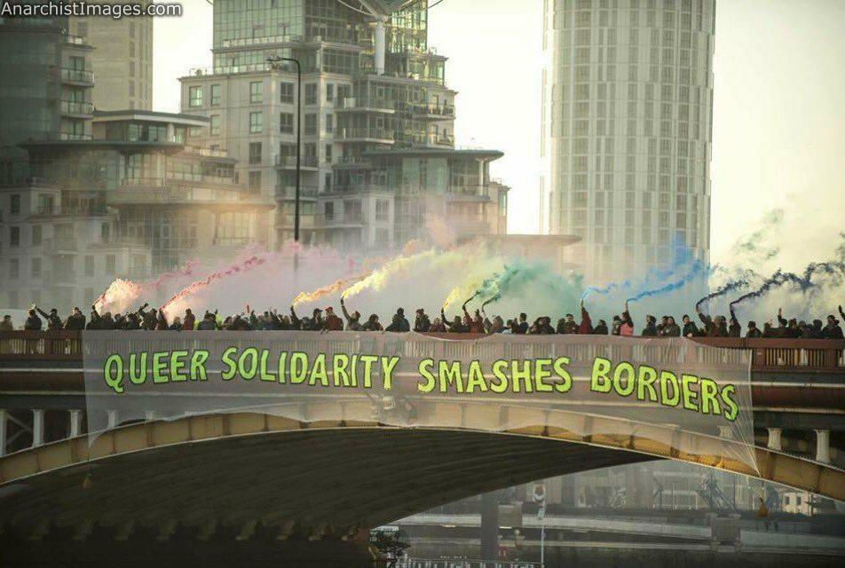 anarcho acab protest