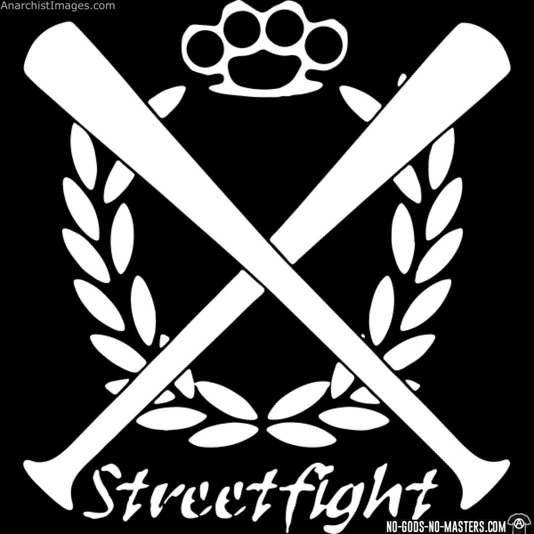 Streetfight anarchist antifa propaganda