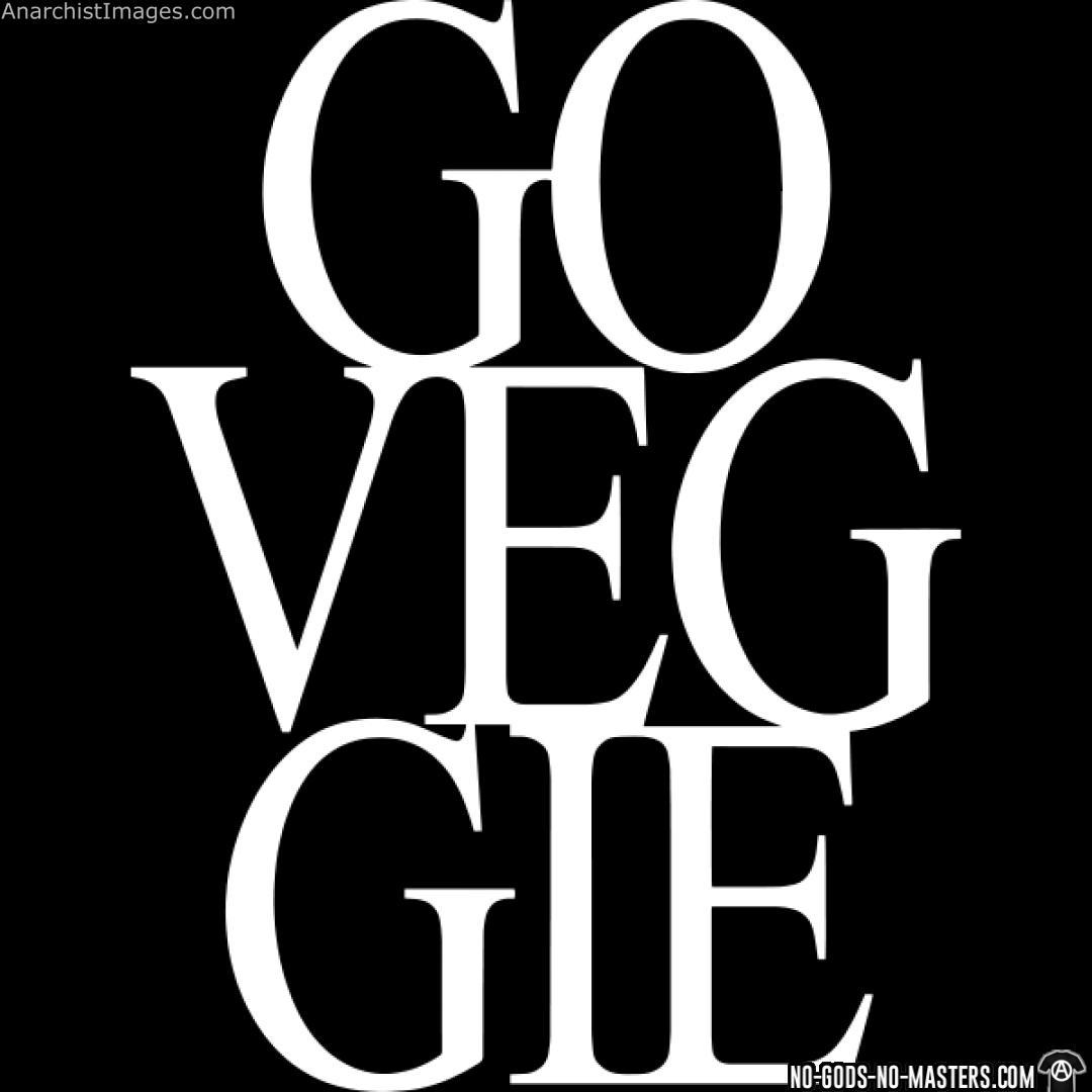 Go Veggie revolution anti fascism pic