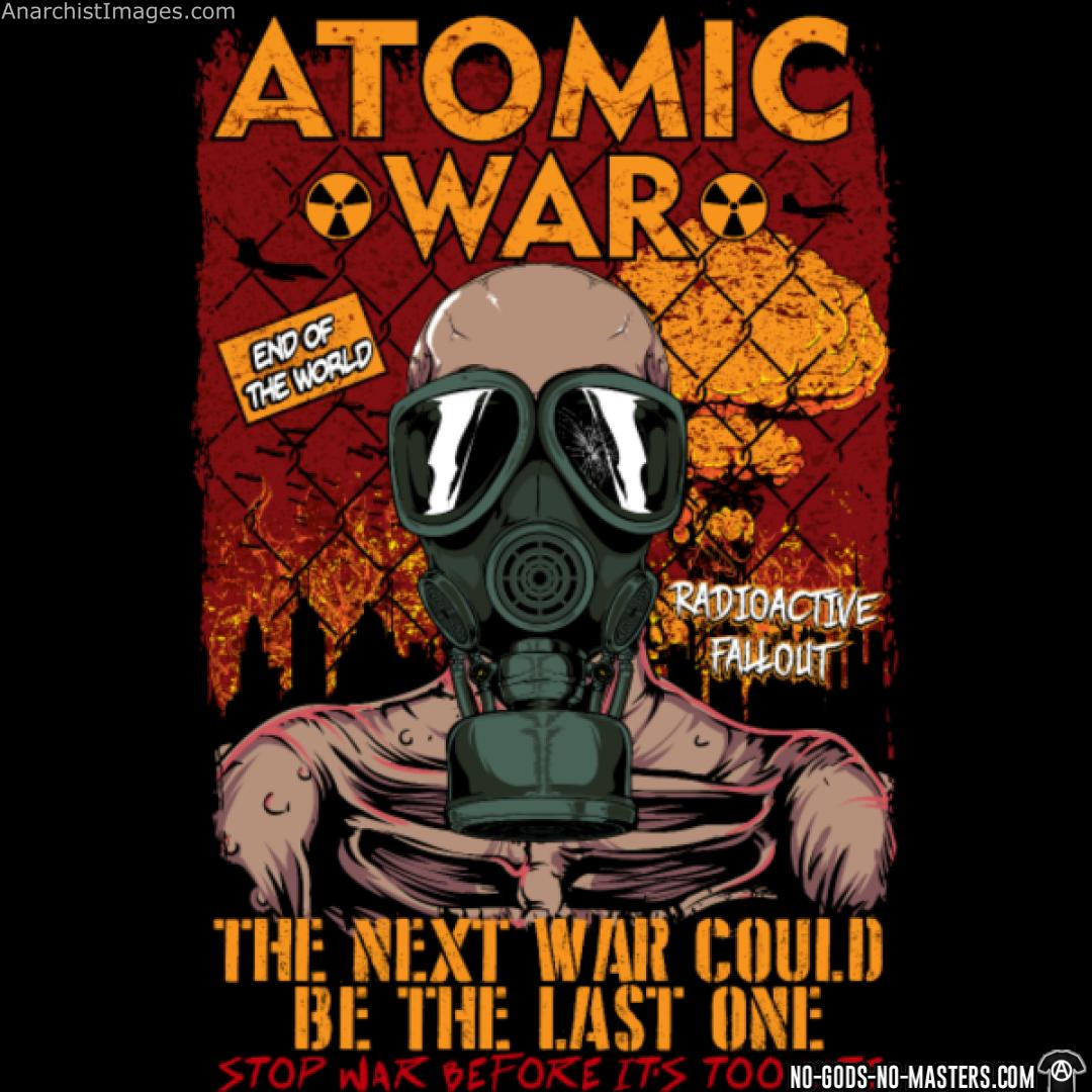 Atomatic war - the next war could be the last Stop war before it