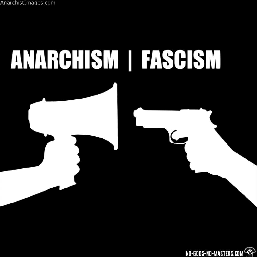 Anarchism vs fascism