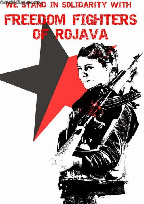 Support Rojava anarchism anti fascist text