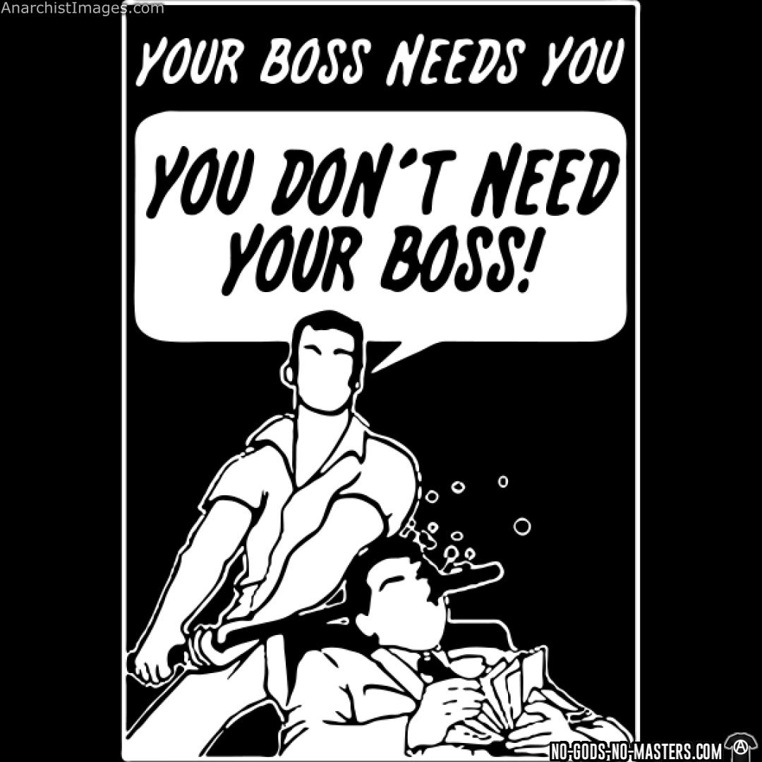 Your boss needs you - you don