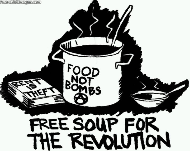 Food, not bombs! source :