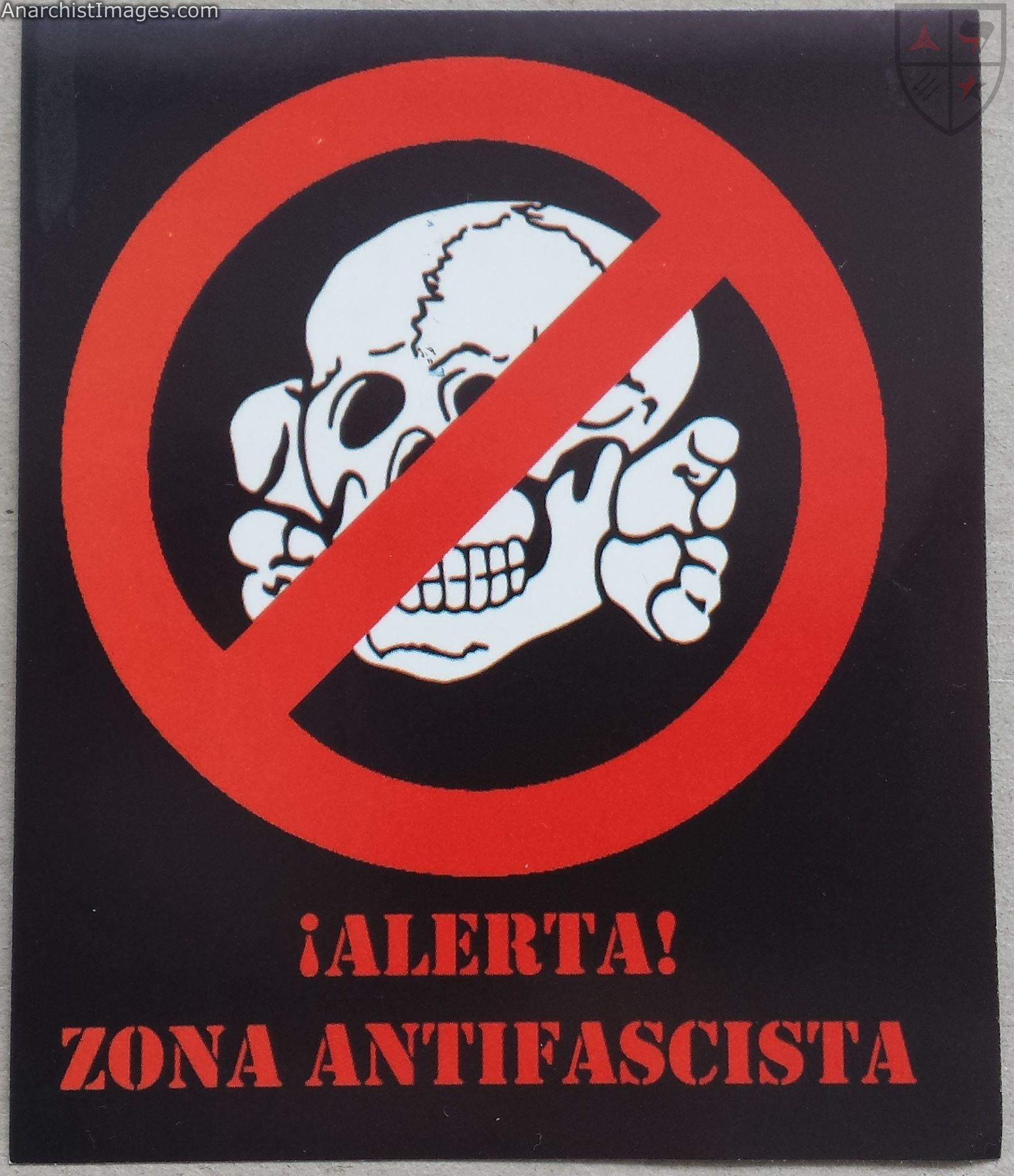 anti capitalist antifascist visual