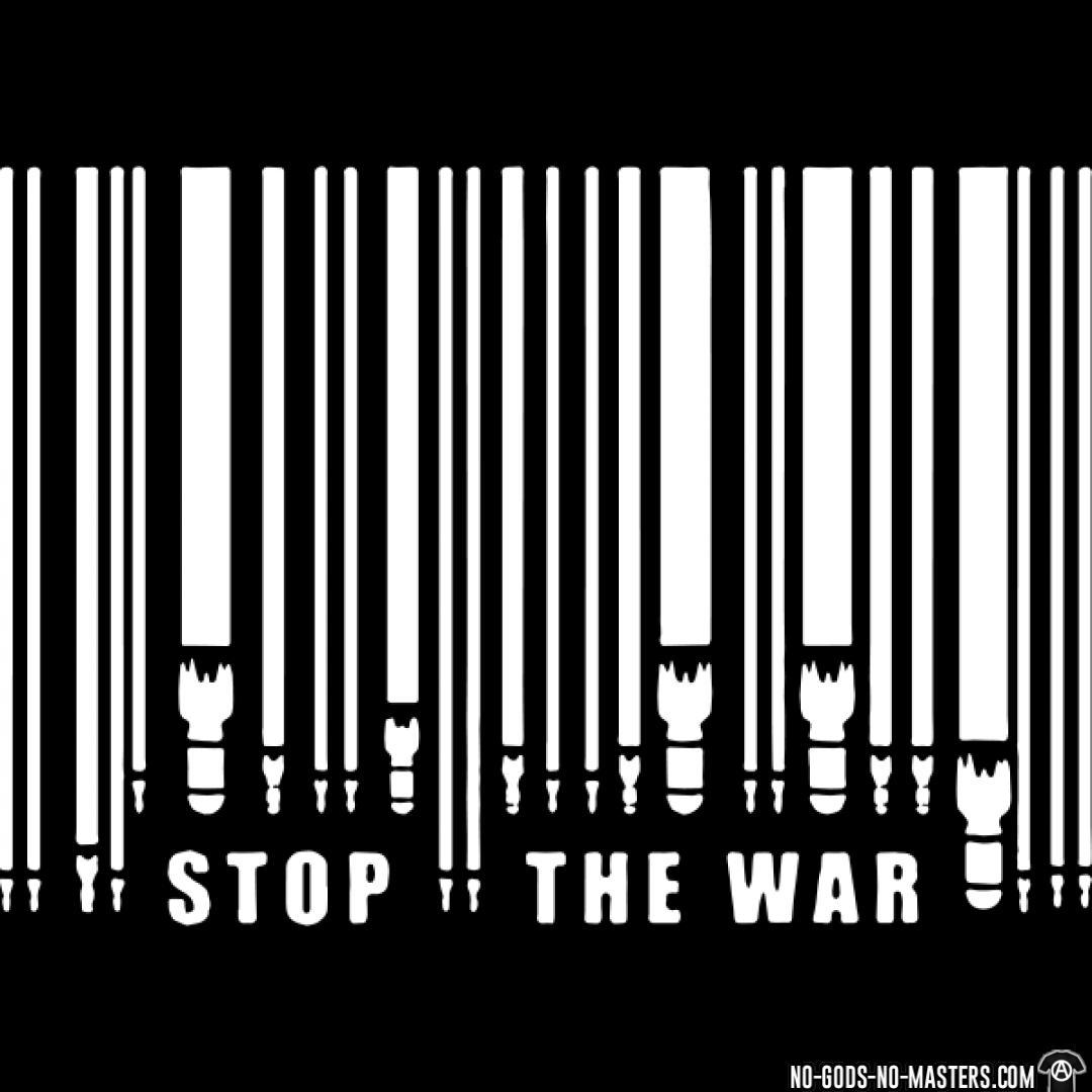 Stop the war socialism anti fascist punk