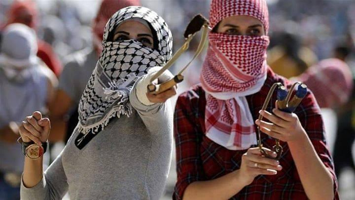 From the Palestinian uprising