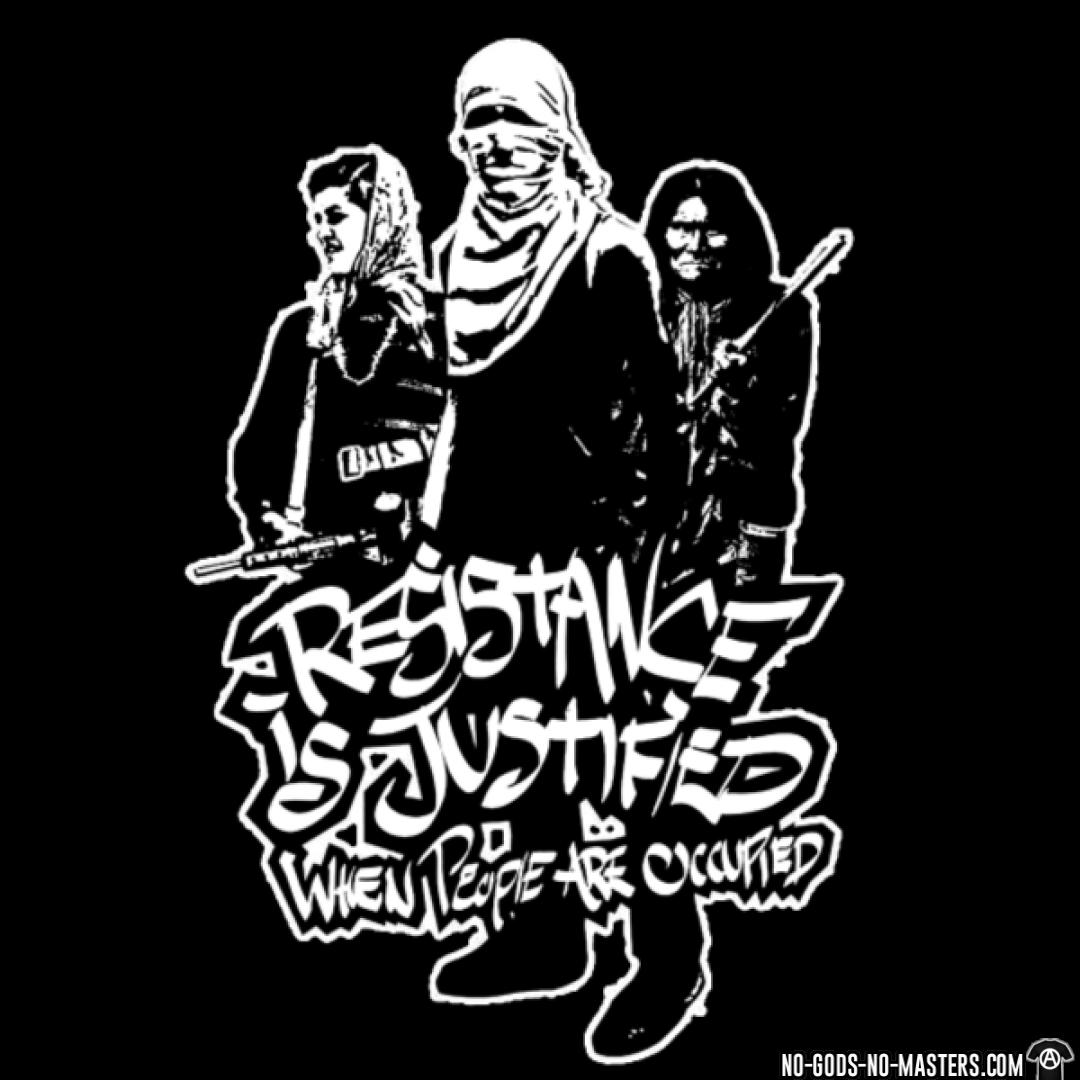 Resistance is justified when people are occupied