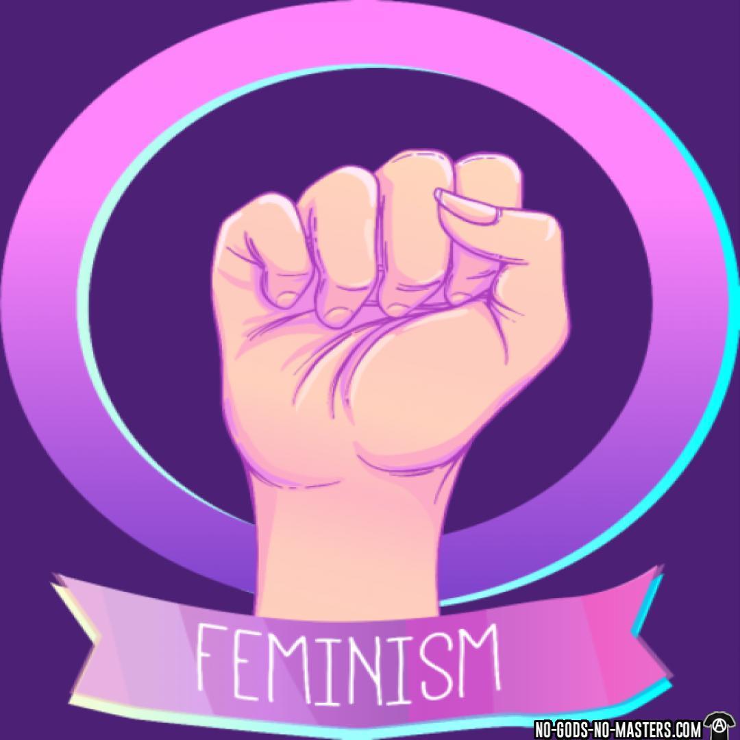 Feminism socialist political print