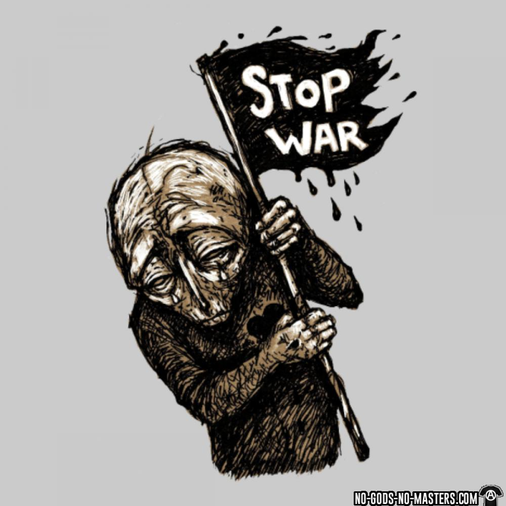 Stop war anticapitalism freedom 2018